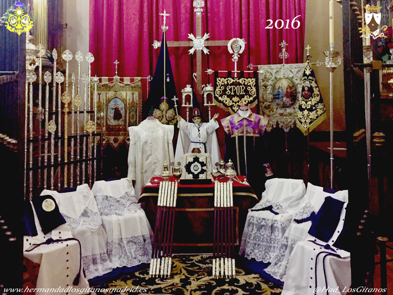 Altar de Insignias 2016