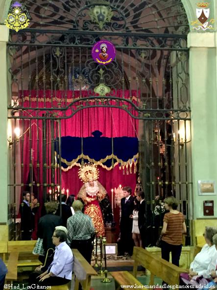 Besamanos Virgen 2015-16