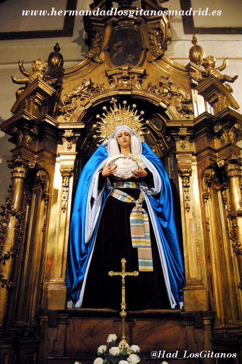 Mª Santísima de las Angustias de hebrea -Cuaresma 2014 - 01