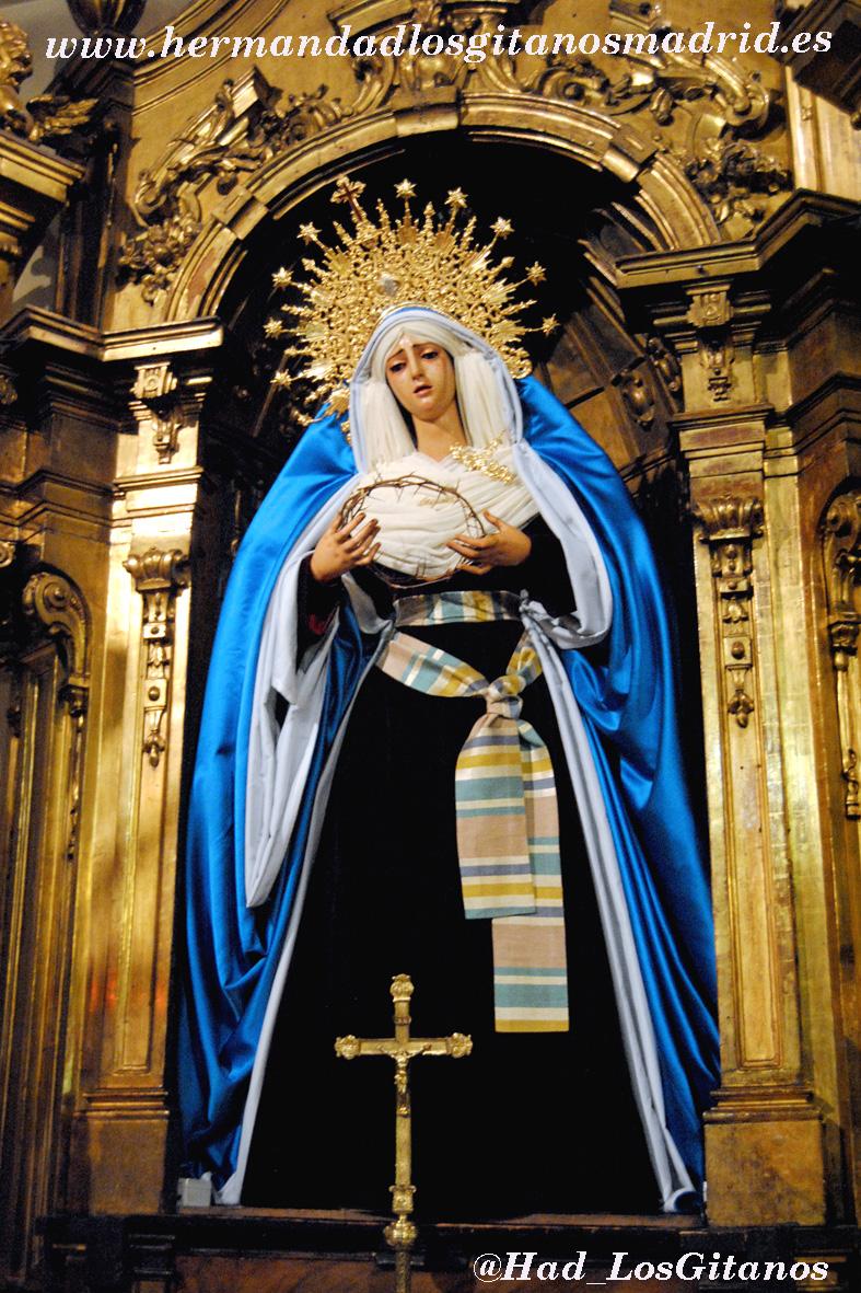 Mª Santísima de las Angustias de hebrea -Cuaresma 2014 - 03