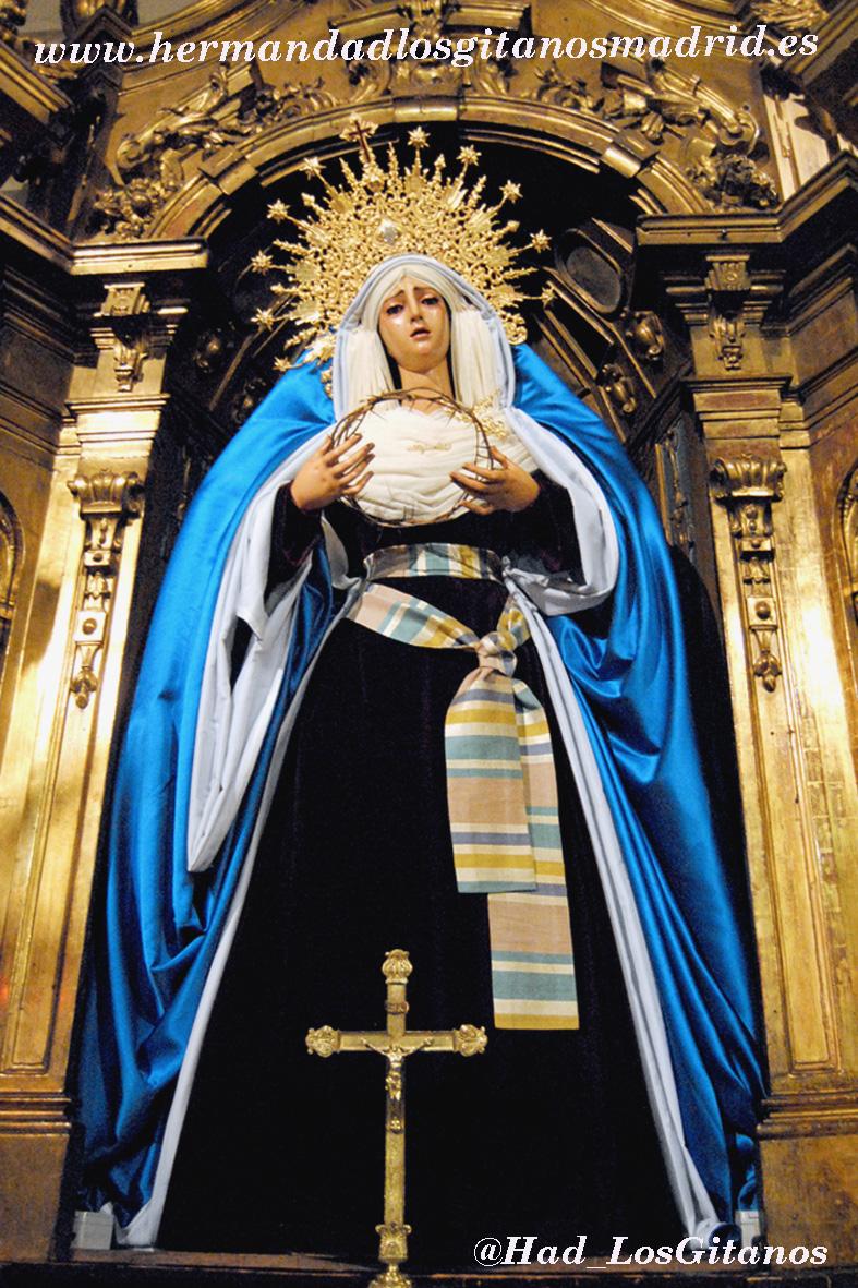 Mª Santísima de las Angustias de hebrea -Cuaresma 2014 - 04