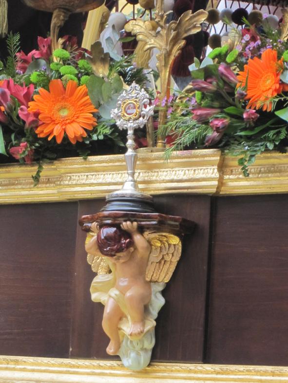 ¡Al anda! Angel costalero, ¡Al cielo con Él!