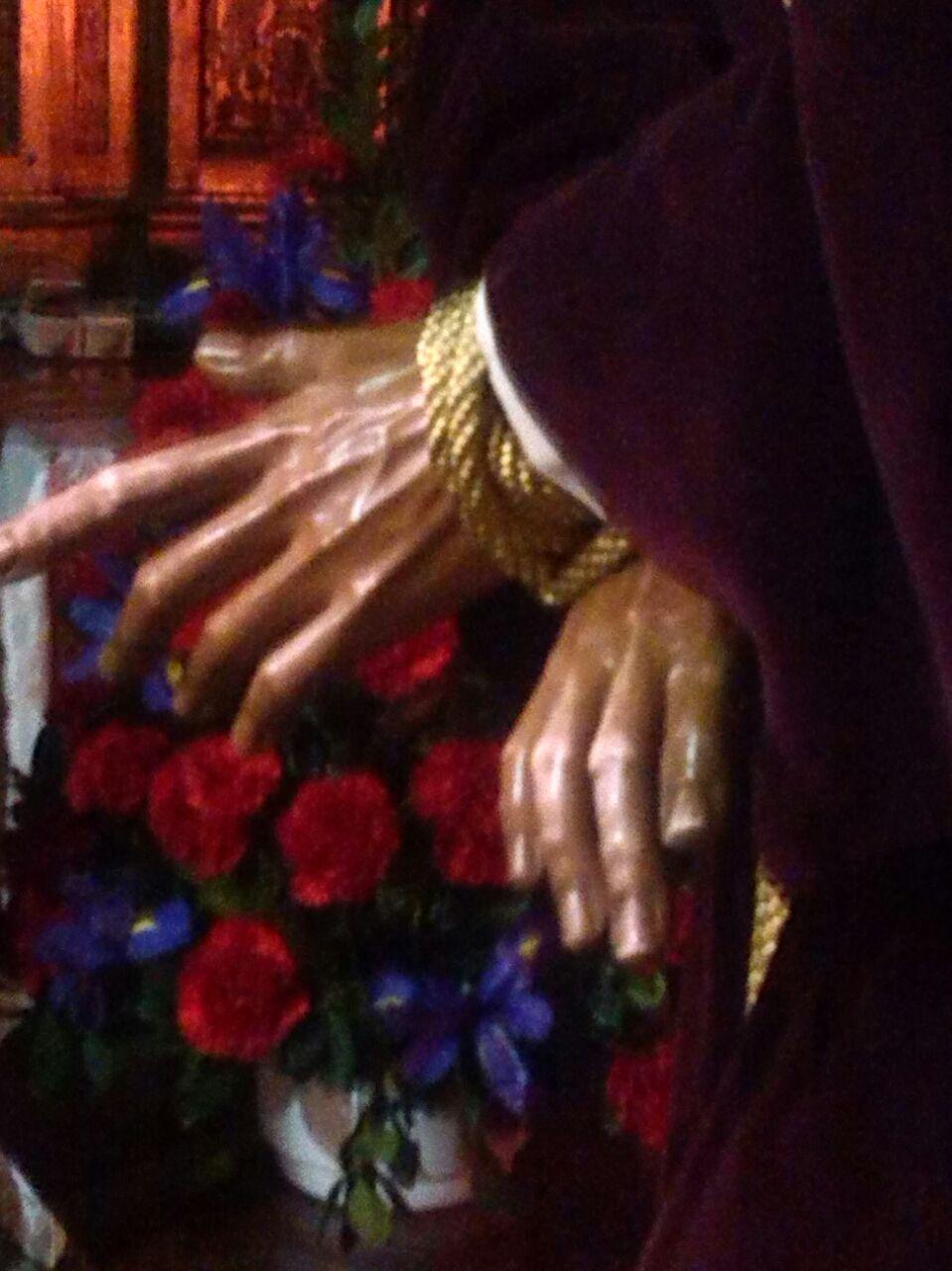 en tus manos estoy a ti me debo