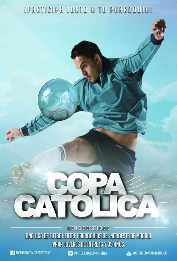 cartel copa catolica